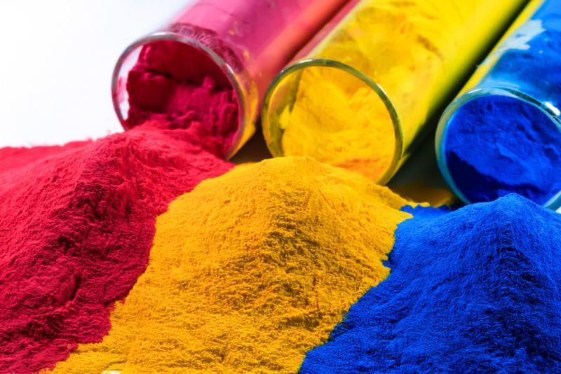 Ứng dụng của bột màu công nghiệp trong sản xuất vật liệu ngành xây dựng