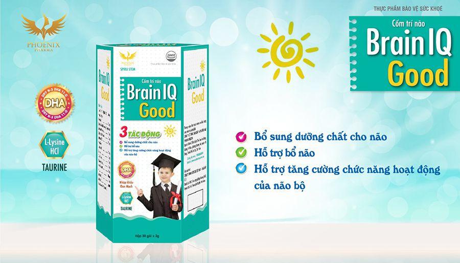 Cốm Trí não Brain IQ Good bổ sung dưỡng chất hỗ trợ phát triển trí não cho trẻ